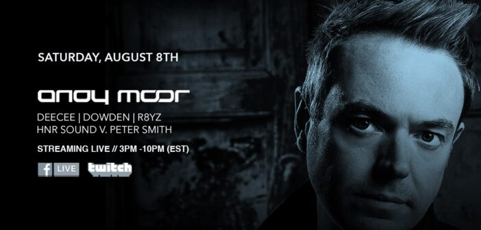 EVENT PREVIEW: Club 77 presents Andy Moor (Livestream) 08-08-20
